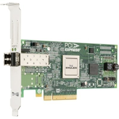 Контроллер Fibre Channel Lenovo 42D0501 (42D0501)Контроллеры Fibre Channel Lenovo<br>Контроллер QLogic 8Gb FC Single-port HBA for SystemX<br>