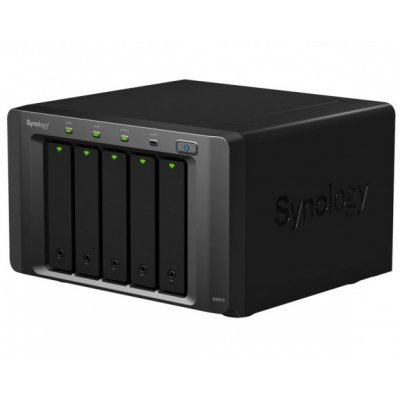 Модуль расширения Synology DX513 Expansion Unit (DX513)Модули расширения Synology<br>for DS712+, DS713+, 1512+,1812+/up to 5hot plug HDDs SATA(3,5&amp;amp;#039; or 2,5&amp;amp;#039;)/1xPS incl eSATA Cbl repl DX510<br>