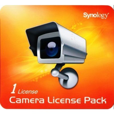 Лицензия Synology 1-camera expansion pack (LicensePack1)Лицензии ПО Synology<br>(incl activation key to increase number cameras attached to NAS)<br>