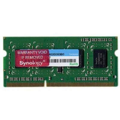 Модуль памяти DDR3 2GB Synology (2GBDDR3RAM) (2GBDDR3RAM)Модули оперативной памяти серверов Synology<br>for expanding DS1812+/DS1512+/RS2212+/RS2212RP+/RS812+/RS812RP+<br>