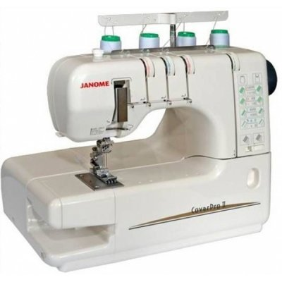 Швейная машина Janome CoverPro 1000CP (CoverPro II) (Cover Pro 2) швейная машина janome sew dream 510 белый