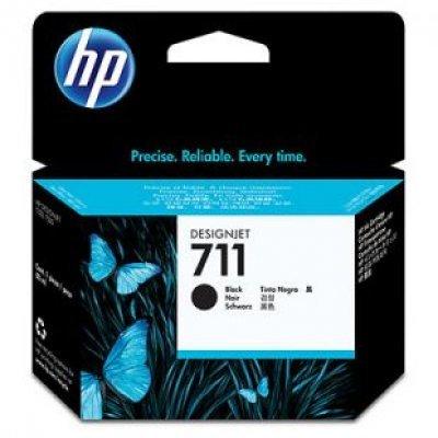 Картридж  HP №711 (CZ133A) для Designjet T120/T520, 80мл, черный (CZ133A)Картриджи для струйных аппаратов HP<br><br>