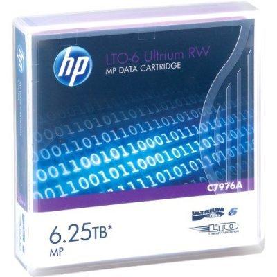Картридж HP Ultrium LTO-6 Data cartridge, 6.25TB RW (C7976A) (C7976A)