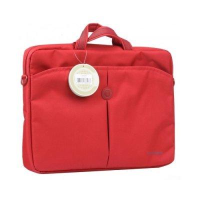 Сумка для ноутбука Continent CC-01 16 Red (CC-01 Red)Сумки для ноутбуков Continent<br>Легкая нейлоновая сумка для ноутбука с вертикальной загрузкой<br>