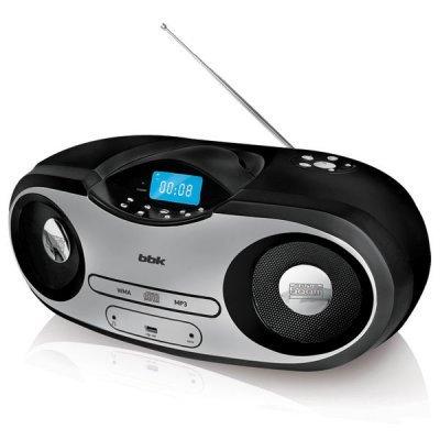 Аудиомагнитола BBK BX517U черный (BX517U черный) аудиомагнитола bbk bx900bt черный bx900bt