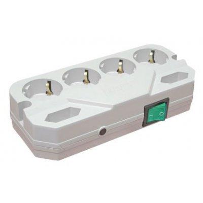 Сетевой фильтр Most CRG 2м белый (CRG 2M WH)Сетевые фильтры Most<br>6 розеток 2м<br>