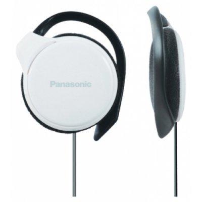 Наушники Panasonic RP-HS46 белый (RP-HS46E-W)Наушники Panasonic<br>/ клипсы 20-20000Гц 1.1м 3.5мм 108дБ белые<br>