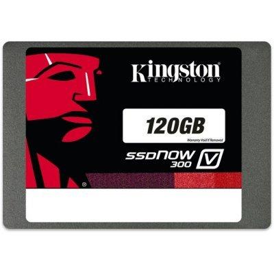 Накопитель SSD 120GB Kingston SV300S3D7/120G (SV300S3D7/120G)Накопители SSD Kingston<br>2.5<br>