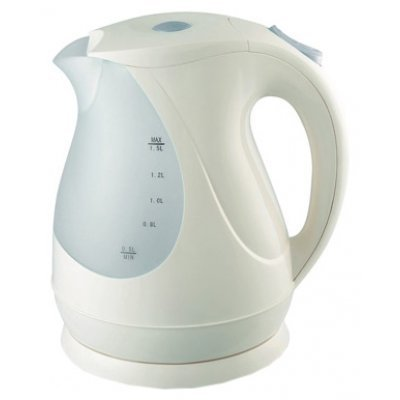 Электрический чайник Ves VES 1018 (VES 1018)Электрические чайники Ves <br>чайник, объем 1.5 л, мощность 2000 Вт, закрытая спираль, установка на подставку в любом положении, пластиковый корпус, индикация включения<br>