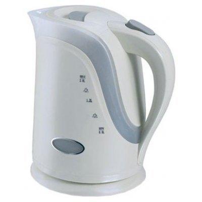 Электрический чайник Ves VES 1017 (VES 1017)Электрические чайники Ves <br>чайник, объем 2 л, мощность 2200 Вт, закрытая спираль, установка на подставку в любом положении, пластиковый корпус, индикация включения<br>