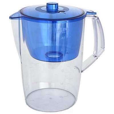 Кувшин Барьер Норма индиго (Барьер-Норма(индиго))Фильтры-кувшин Барьер<br>фильтр, кувшин, очистка от хлора, для холодной воды, производительность 0.3 л/мин<br>