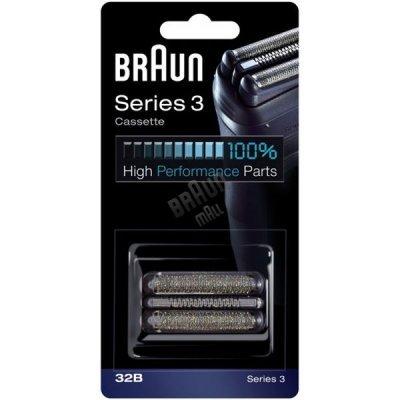 Режущий блок+сетка Braun Series3 32B (Series3 32B(Сет+р.б)) аксессуар braun series 3 32b сетка и режущий блок