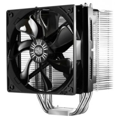 Вентилятор Cooler Master Hyper 412S (RR-H412-13FK-R1) (Intel: LGA2011/1366/1156/1155/775; AMD:FM1/AM3/AM2+/AM2/939) (RR-H412-13FK-R1)Кулеры для процессоров CoolerMaster<br>TDP 250 Вт, технология CDC,max- 22.5 dBA, вент. 120x120x25 мм<br>