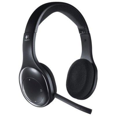 Компьютерная гарнитура Logitech Wireless Headset H800 (981-000338)Компьютерные гарнитуры Logitech<br>USB<br>