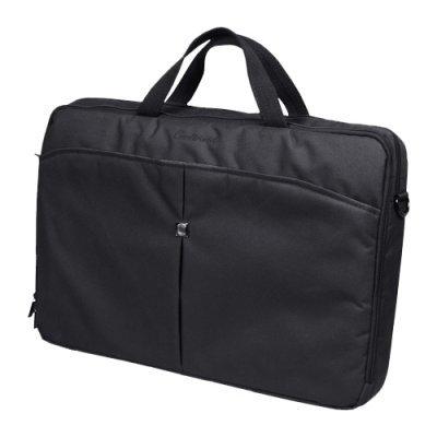 Сумка для ноутбука Continent CC-1017 чёрный (CON-CC1017/Black)Сумки для ноутбуков Continent<br>сумка<br>для 17 ноутбуков<br>из синтетических материалов<br>отделение-органайзер<br>водонепроницаемый материал<br>