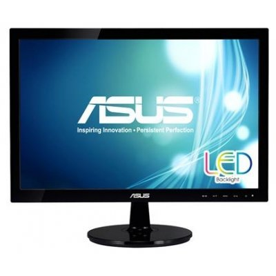Монитор 18.5 Asus VS197DE Black (90LMF1001T02201C-)Мониторы ASUS<br>TN LED 5ms 16:9 50M:1 250cd<br>