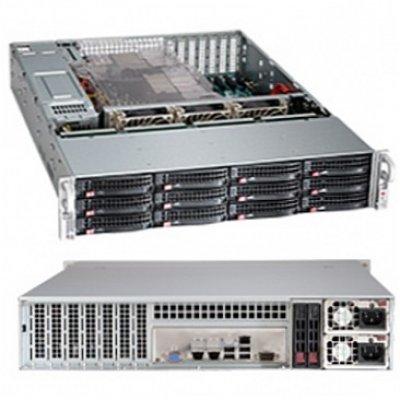 Корпус Supermicro CSE-826BE26-R1K28LPB (CSE-826BE26-R1K28LPB)Корпуса серверные SuperMicro<br>2U, 1300W, 12*HDD SAS/SATA 3, 2Ch Expander SAS2<br>