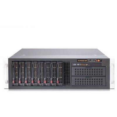 Корпус Supermicro CSE-835TQ-R920B (CSE-835TQ-R920B)Корпуса серверные SuperMicro<br>SuperMicro SuperChassis 835TQ-R920B для монтажа в стойку высотой 3U, 5 вентиляторов диаметром 80 мм, поддерживает материнские платы 13.68 x 13. Блок питания 920 Вт. 8 внутренних отсеков для установки жестких дисков LFF 3.5 с возможностью горячей замены<br>