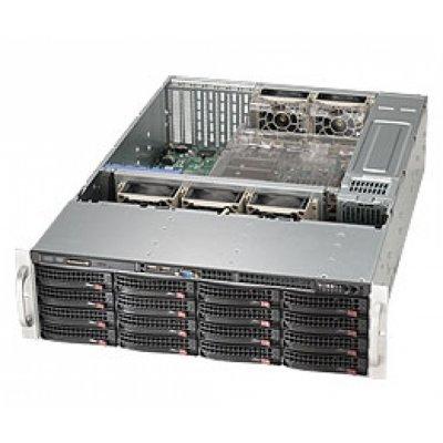 Корпус Supermicro CSE-836BE16-R1K28B (CSE-836BE16-R1K28B)Корпуса серверные SuperMicro<br>Supermicro Case ; 3U, 1300W, Redundant, 16*HDD SAS/SATA 3, 1Ch Expander SAS2<br>