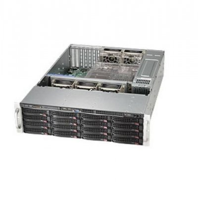 Корпус Supermicro CSE-836BE26-R1K28B (CSE-836BE26-R1K28B)Корпуса серверные SuperMicro<br>3U, E-ATX и ATX, 1280 Вт, 16x 3.5 Hot-swap HDD Bays, 132x437x648 мм<br>