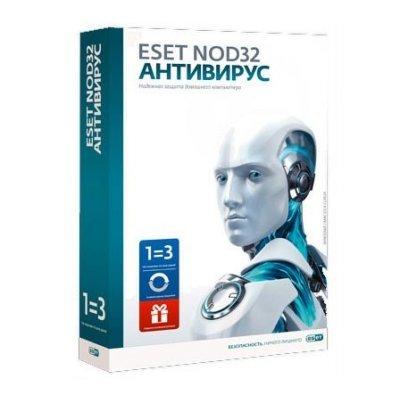 Антивирус ESET NOD32 + Bonus + расширенный функционал - универсальная лицензия на 1 год на 3ПК или продление на 20 месяцев (NOD32-ENA-1220(BOX)-1-1)