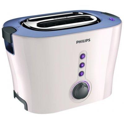 Тостер Philips HD2630/40 (HD2630/40)Тостеры Philips<br>на 2 тоста, мощность 1000 Вт, механическое управление, функция размораживания, решетка для булочек, отсек для сетевого шнура<br>