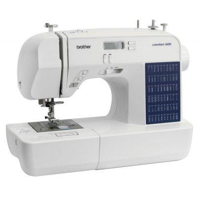 Швейная машина Brother Comfort 60E (Comfort 60E)Швейные машины Brother<br>/ 60 операций, 7 петель, эл. блок, дисплей, нитевдеватель, цвет: белый<br>