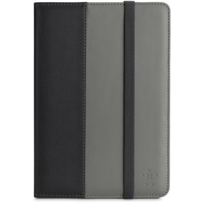 Чехол Belkin F7N037vfC00 Classic Strap Cover With Stand для iPad Mini серый (F7N037vfC00)