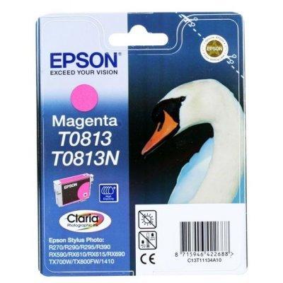 Картридж Epson для R270/390/RX590 пурпурный (T11134A10) (C13T11134A10)Картриджи для струйных аппаратов Epson<br>повышенной емкостиv (T08134)<br>