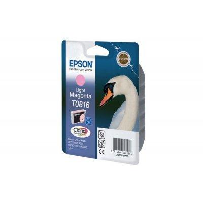 Картридж Epson для R270/390/RX590 светло-пурпурный (T11164A10) (C13T11164A10)Картриджи для струйных аппаратов Epson<br>повышенной емкости (T0816)<br>