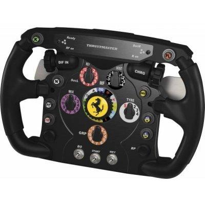 Руль Thrustmaster Ferrari F1 Wheel (2960729) (2960729)Рули проводные Thrustmaster<br>проводной руль для ПК, PS3<br>подключение через USB<br>угол поворота 1080°<br>оплетка руля из резины<br>виброотдача, обратная связь<br>кнопок: 25, имеется крестовина (D-pad)<br>