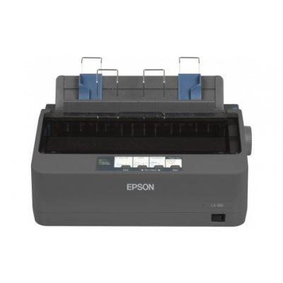 Матричный принтер Epson LX-350 (C11CC24031) (C11CC24031)Матричные принтеры Epson<br>технология печати: матричный, черно-белый, формат: A4, USB, LPT<br>