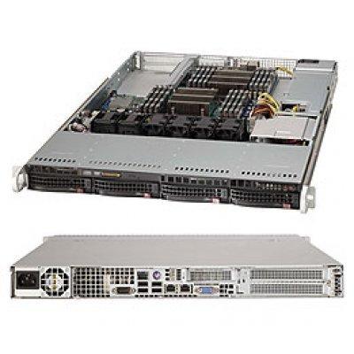 Серверная платформа SuperMicro SYS-6017R-NTF (SYS-6017R-NTF)Серверные платформы SuperMicro<br>1U, SATA, Black<br>