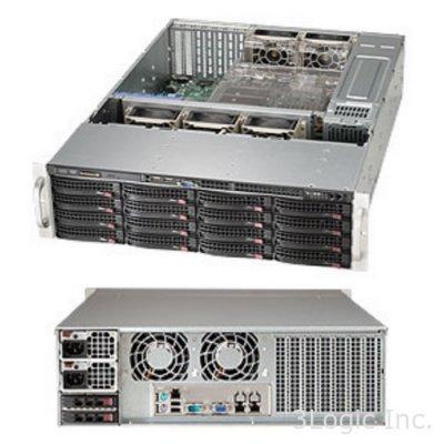 Корпус SuperMicro CSE-836BE26-R920B (CSE-836BE26-R920B)Корпуса серверные SuperMicro<br>3U, 920W, Redundant, 16*HDD SAS/SATA 3, 2Ch Expander SAS2<br>