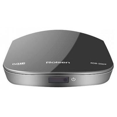 Внешний TV-тюнер DVB-T2 Rolsen RDB-506N Черный (RDB-506N Черный)