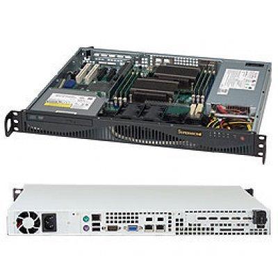 Корпус SuperMicro CSE-512F-350B (CSE-512F-350B)Корпуса серверные SuperMicro<br>CSE-512F-350B Корпус Supermicro 1 U 350W Высокоэффективный источник питания (80 PLUS, Gold Level Certified) 2x 3.5 Internal Drive Bay 2x 4cm вентилятора Power On/Off Button System Reset Button Индикатор включения питания Индикатор активности жесткого диска 2x Индикатора сетевой активности Инди ...<br>