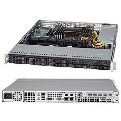 Серверная платформа SuperMicro SYS-1017R-MTF (SYS-1017R-MTF)Серверные платформы SuperMicro<br>1U, SATA, Black<br>