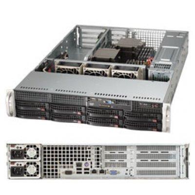 Серверная платформа SuperMicro SYS-6027R-N3RF (SYS-6027R-N3RF)Серверные платформы SuperMicro<br>2U, SATA/SAS<br>