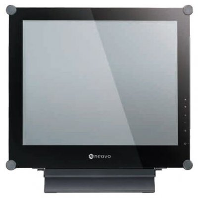 Монитор 17 NEOVO X-17P Black (X-17P Black)Мониторы Neovo<br>17 TFT; Металлический корпус, защита экрана NeoV (стекло), 1280x1024; 3ms (15/10); Viewing Angle: L/R 85/85, U/D: 85/85; Contrast: 1000:1; 0.264mm; Brightness: 250cd/m^2; Color: 16.7 million; Power consumption: 48W (max.); Europe 220V Power Cord; Wall mounting (100 mm); Input: 1. Analog, 2.DVI ...<br>