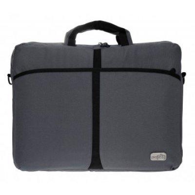 Сумка для ноутбука PC PET 17 PCP-A1317GY (PCP-A1317GY) сумка для ноутбука pc pet 15 6 pcp 1001rd черный pcp 1001rd