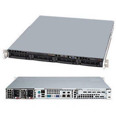 Серверная платформа SuperMicro SYS-5017C-MTRF (SYS-5017C-MTRF)Серверные платформы SuperMicro<br>1U, SATA, Black<br>