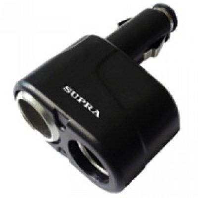 Разветвитель в прикуриватель Supra SCP 2-12U (SCP 2-12U)Разветвители в прикуриватель Supra<br><br>