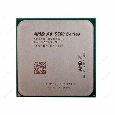 Процессор AMD A8-5500 (3,2GHz, 4Mb, FM2) oem (AD5500OKA44HJ)Процессоры AMD <br>4-cores, 65W, GPU HD 7560D<br>