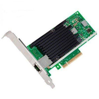 Сетевая карта Intel X540T1 PCI-E 10Gb Single port (X540T1 914246)Сетевые карты внешние Intel<br>NET CARD PCIE 10GB SINGLE PORT X540T1 914246<br>