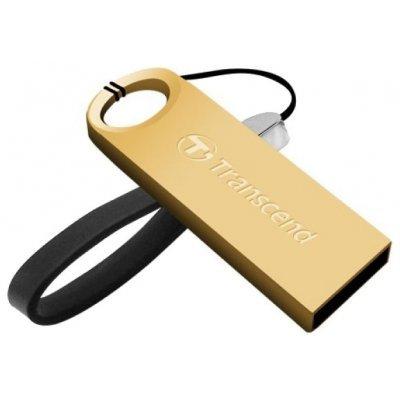 USB накопитель 16Gb Transcend JetFlash 520 золотистый (TS16GJF520G)USB накопители Transcend<br>флэш-накопитель 16 Гб<br>интерфейс USB 2.0<br>водонепроницаемый корпус<br>материал корпуса: металл<br>