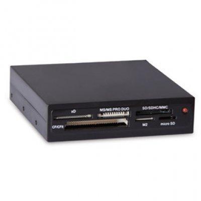 Картридер Ginzzu GR-116B internal 3.5 USB2.0 All-in-one black oem (GR-116B) inov 8 сумка all terrain kitbag black