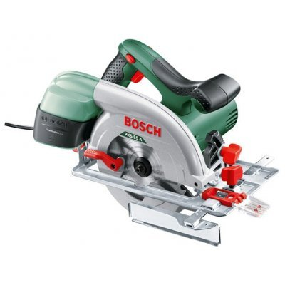 Пила Bosch PKS 55 (603500020) (603500020) аккумуляторная дисковая пила bosch pks 18 li 2 5ah x1 06033b1302
