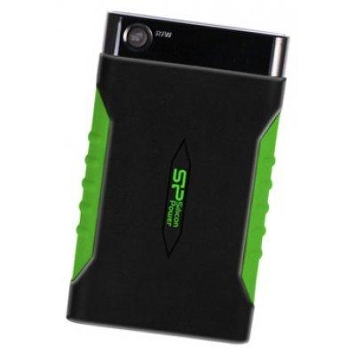 Внешний жесткий диск Silicon Power 500Gb SP500GbPHDA15S3K 2.5  USB 3.0 черный (SP500GBPHDA15S3K), арт: 132482 -  Внешние жесткие диски Silicon Power