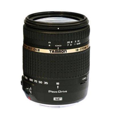 Объектив Tamron B008E 18-270мм для Canon (B008E)Объективы для фотоаппарата Tamron <br>F3.5-6.3 Di II VC PZD<br>