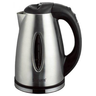 Электрический чайник Saturn ST-EK0011 металл (ST-EK 0011)Электрические чайники Saturn <br>чайник, объем 1.8 л, мощность 2000 Вт, закрытая спираль, установка на подставку в любом положении, стальной корпус, индикация включения<br>